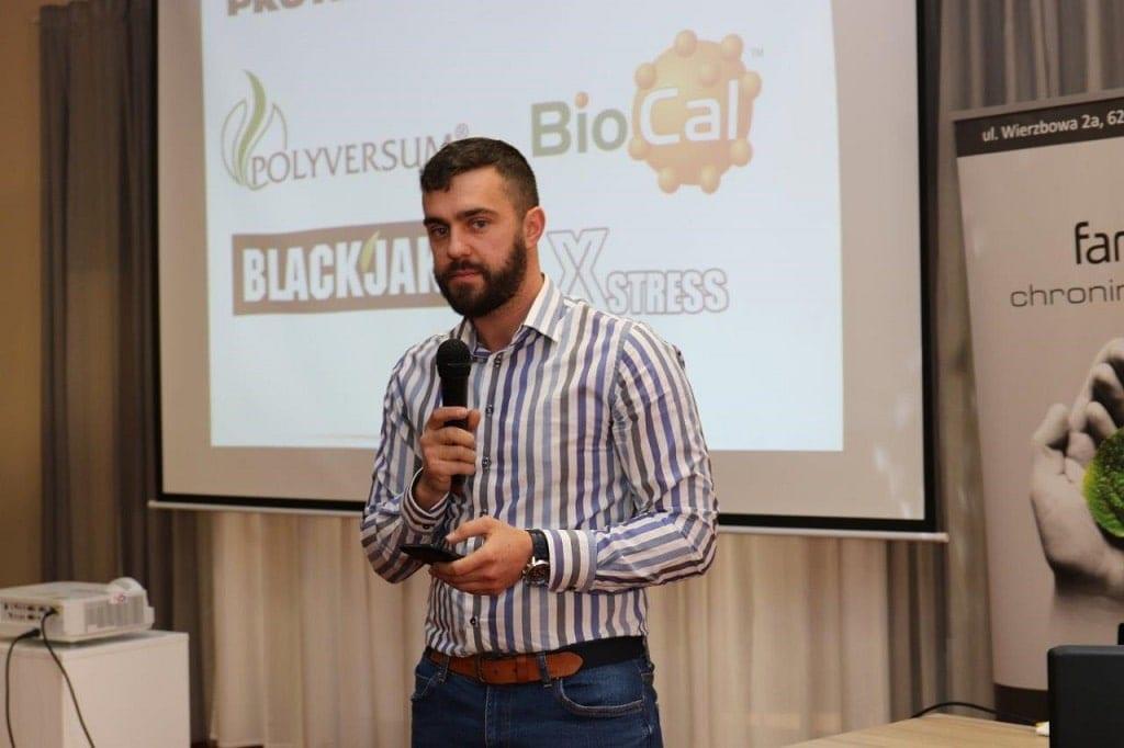 Szymon Kamiński z firmy Bio Agris