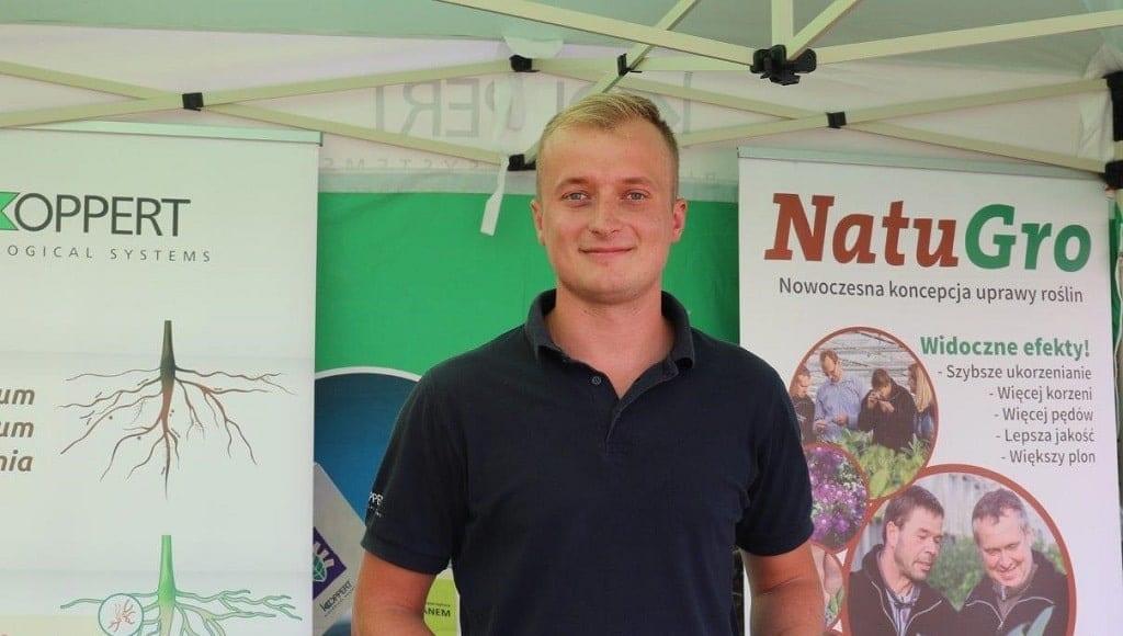 Tomasz Domański z firmy Koppert