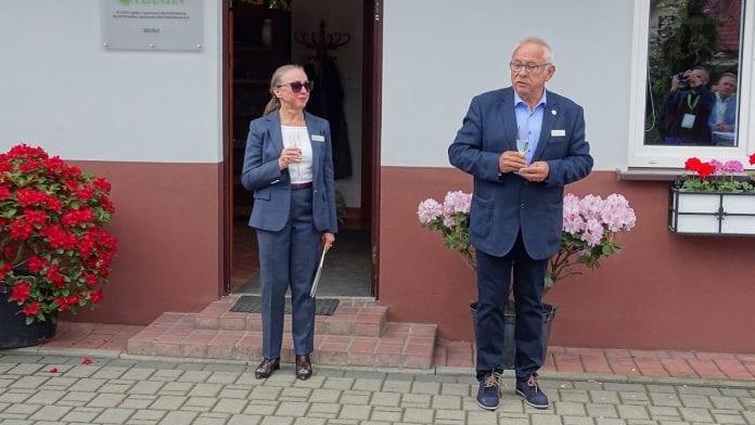 Ewa i Tadeusz Kusibab od ponad 40 lat razem zajmują się gospodarstwem specjalizującym się w mikrorozmnażaniu roślin – fot. P. Grel