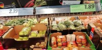 Owoce i Warzywa w sieci handlowej w Berlinie