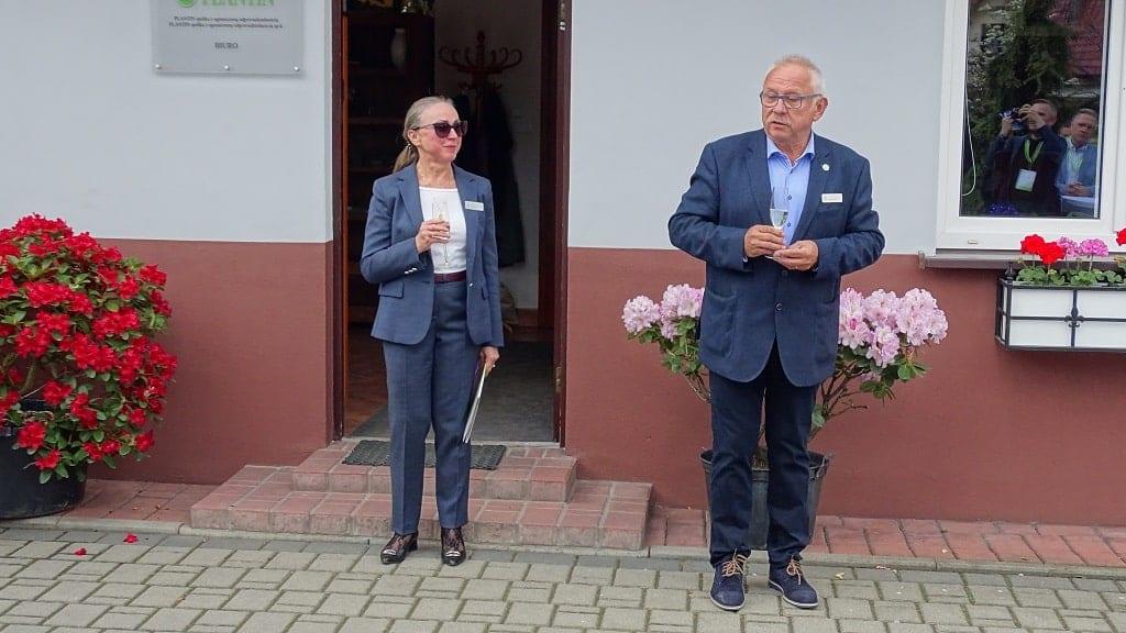 Ewa i Tadeusz Kusibab od ponad 40 lat razem zajmują się gospodarstwem specjalizującym się w mikrorozmnażaniu roślin
