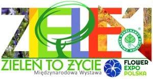 logo Zieleń to Życie i Flower Expo Polska