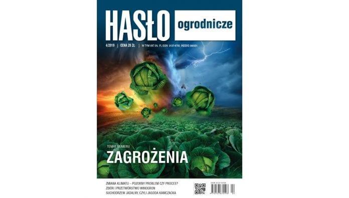 Hasło Ogrodnicze 4/2019 - okładka