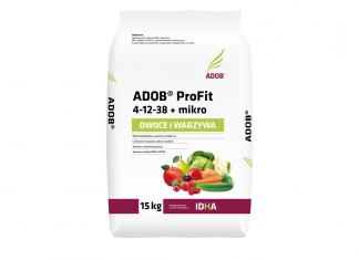 ADOB® ProFit + mikro Owoce i Warzywa z tytułem Innowacyjny Produkt Ogrodniczy 2019
