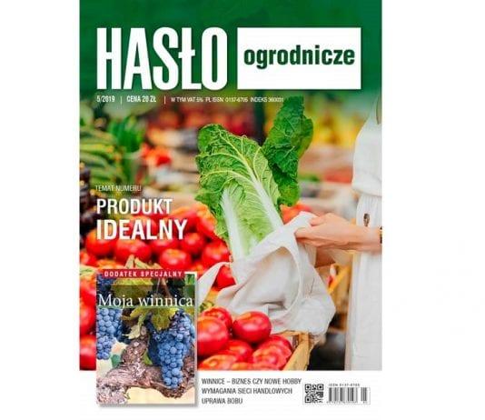 """W najnowszym """"Haśle Ogrodniczym"""" – 5/2019"""