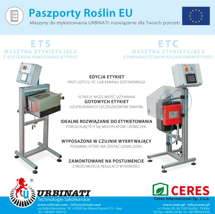 Paszporty roślin EU