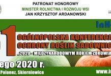Już 4 lutego 61. Ogólnopolska Konferencja Ochrony Roślin Sadowniczych
