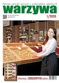 Warzywa 1/2020 - okładka numeru