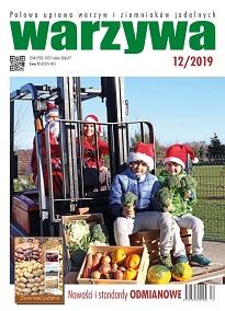 Warzywa 12/2019 - okładka numeru