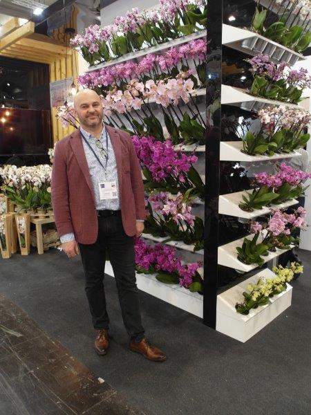 Krzysztof Rutkowski z firmy JMP Flowers