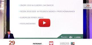 Rynek i zapasy jabłek w Polsce i Europie – Adam Paradowski (VIDEO)