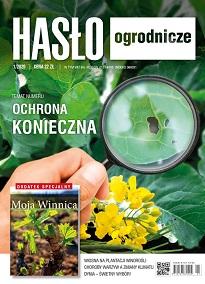 Hasło Ogrodnicze numer 1/2020 - okładka