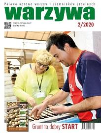 Warzywa 2/2020 - okładka