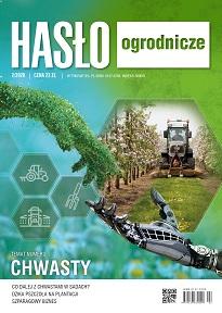 Hasło Ogrodnicze numer 2/2020 - okładka