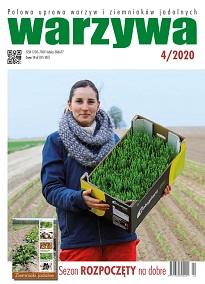 Warzywa numer 4/2020 - okładka