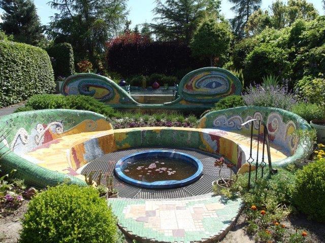 Ogród w stylu hiszpańskim