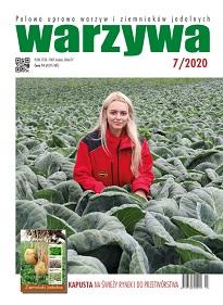 Warzywa nr 7/2020 - okładka