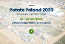 Potato Poland 2020 Lubków – XXVII Krajowe Dni Ziemniaka startują już za cztery dni