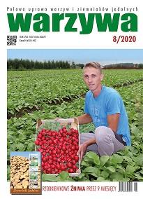 Warzywa 8/2020 - odkładka