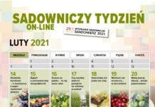 Sadowniczy Tydzień On-line 14-21 luty 2021