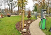 W Brwinowie powstał ogród botaniczny