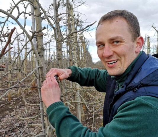#1 Komunikat sadowniczy Mateusz Nowacki. Uszkodzenia mrozowe, pierwsze zabiegi, 05.03.2021