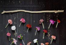 Dekoracje z pelargonii w ogrodzie