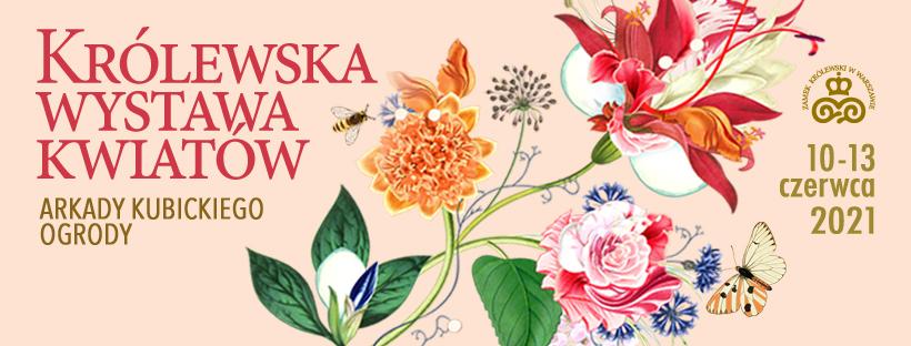 logotyp Królewska Wystawa Kwiatów