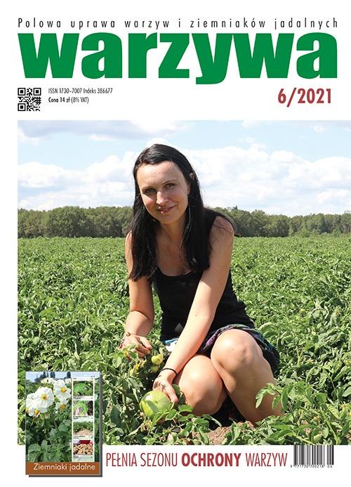 Warzywa nr 6/2021 - okładka