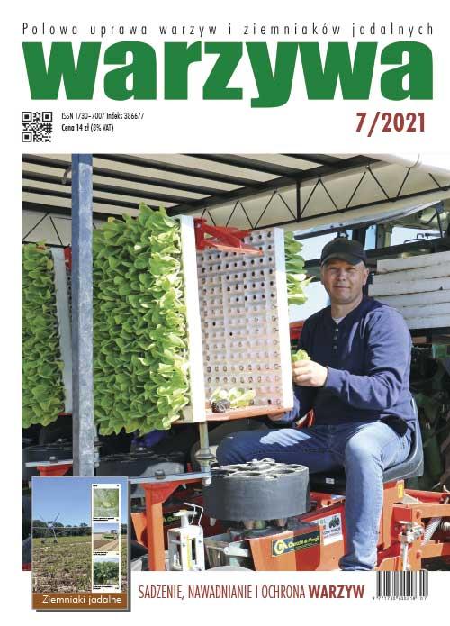 Warzywa 7/2021 - okładka