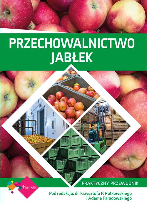 Przechowalnictwo jabłek - okładka