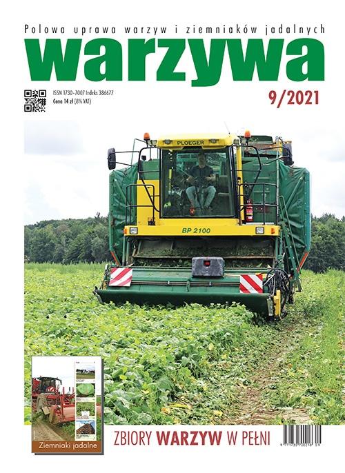 Warzywa 9/2021 - okładka